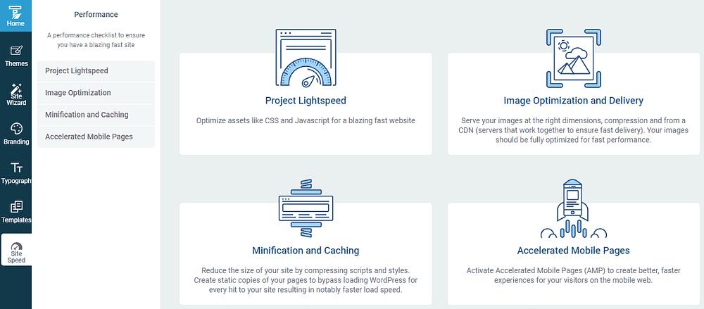 Thrive Themes - Site Speed - Project Lightspeed - 網站最佳化