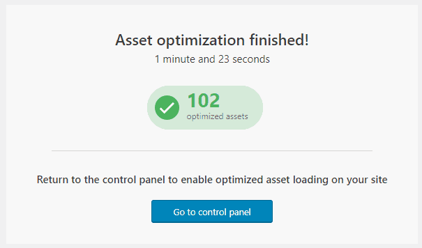 Thrive Themes - Project Lightspeed - Asset Optimization Finished - 網站最佳化